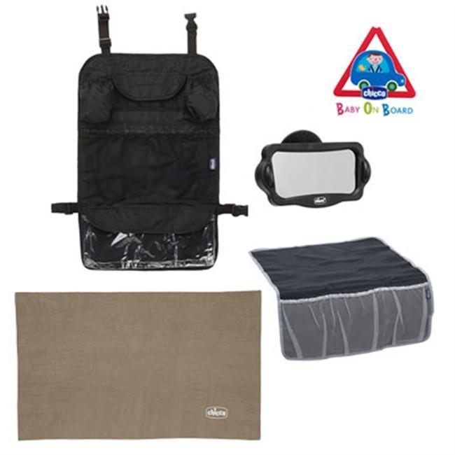 kit 5 accessoires de voyage pour enfants chicco. Black Bedroom Furniture Sets. Home Design Ideas