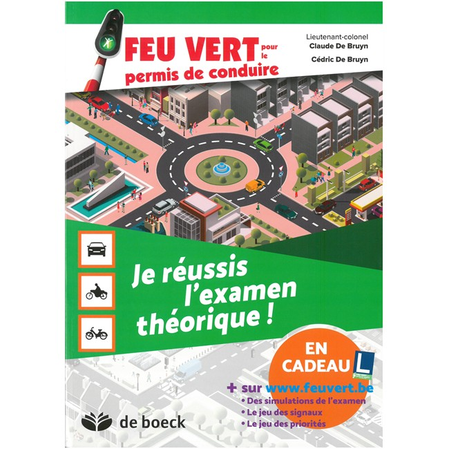 livre feu vert pour le permis de conduire je r ussis l 39 examen th orique. Black Bedroom Furniture Sets. Home Design Ideas