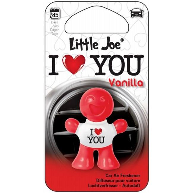 Luchtverfrisser Voor Uw Auto Little Joe I Love You Vanille Auto5be