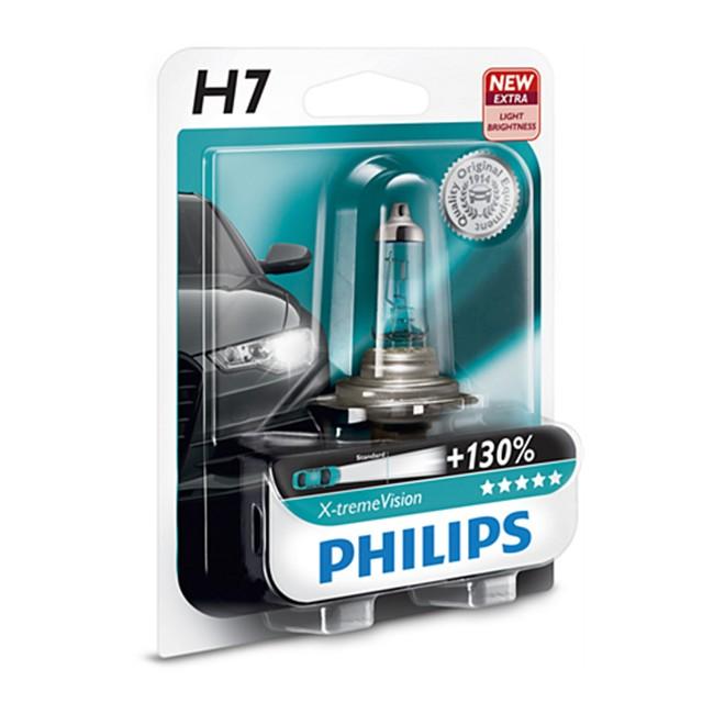 1 ampoule philips h7 x tremevision 55 w 12 v. Black Bedroom Furniture Sets. Home Design Ideas