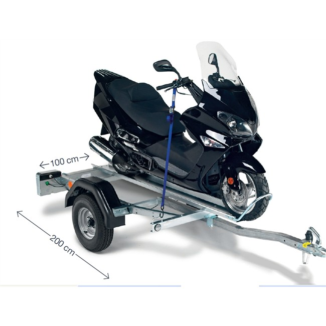 aanhangwagen motordrager 1 motor 350 kg norauto pm1 voorgemonteerd. Black Bedroom Furniture Sets. Home Design Ideas