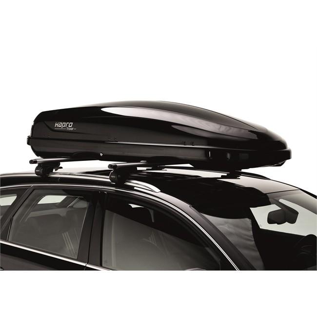 coffre de toit hapro traxer 6 6 brilliant black. Black Bedroom Furniture Sets. Home Design Ideas