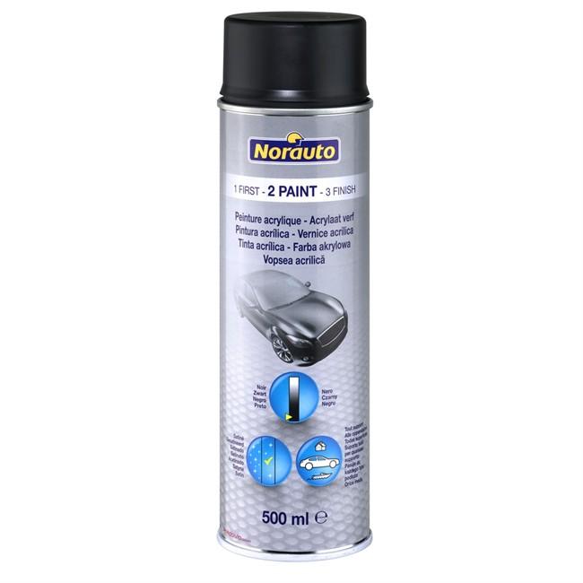 Bombe de peinture noir norauto 500 ml - Bombe de peinture noir ...