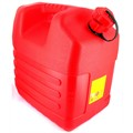 Jerrycan plastic rood 20L