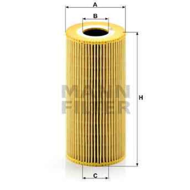 Filtre À Huile Mann-filter Hu951x