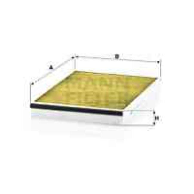 Filtre D'habitacle Polyphénol Fp3054 Mann-filter