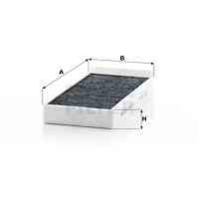 Filtre D'habitacle À Charbon Actif Cuk23005-2 Mann-filter